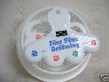 Pet Parlor Four Paws Grooming Kit Tracker Treats Dog Studio Feeding Bowl New