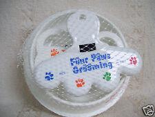 Pet Parlor Four Paws Grooming Kit Tracker Treats Dog Studio Feeding Bowl New
