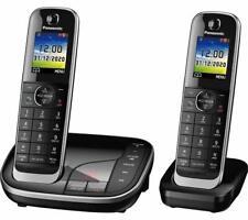 Panasonic KX-TGJ422EB Sem Fio Bloqueador de chamada/Secretária Eletrônica, Twin (ML4397)