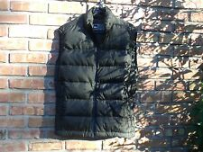 REI Goose Down Puffer Vest Men's S / Womens M BROWN Zip up in EUC