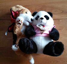 2008 Fur Real Friends Tumbles Dog or Build a Bear Panda
