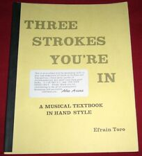 PARTITION / THREE STROKES YOU'RE IN / A MUSICAL TEXTBOOK IN HAND STYLE