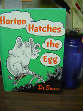 Horton Hatches the Egg by Dr. Seuss (1966, Hardcover)
