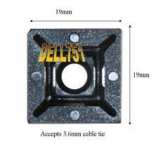 Atadura de cables base (Autoadhesivo) 19 X 19mm paquetes de de 50 CA1