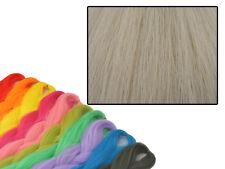 CYBERLOXSHOP PHANTASIA KANEKALON JUMBO BRAID NATURAL SILVER BLONDE HAIR DREADS