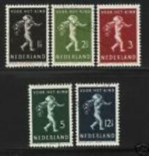 Nederland Netherlands 327-331 kinderzegels 1939 gestempeld-used