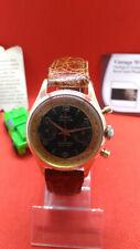 Cronographe ECLAIR -Bi Compax-Landeron 248-60s Excellent Condition-Vintage Watch