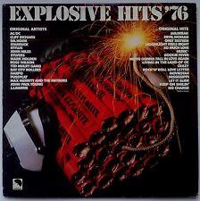 AC/DC/TED MULRY GANG/HARPO/MAX MERRITT/STYLUS Explosive Hits '76 OZ EMI EX/EX