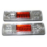 12V 19 LED Rear Tail Lights Stop Truck Lorry Trailer For Mitsubishi Fuso Canter