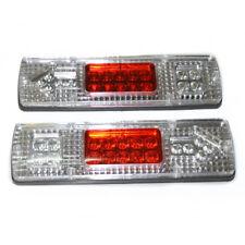 Pair 12V Rear Stop Tail Lights 19 LED Indicator Lamp Trailer Truck Caravan Bus