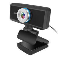 Digital USB Web Cam PC Camera Full HD 1080P Video Calling Teleconference Webcam