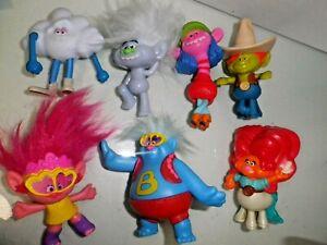 McDonalds toys 2020 'Trolls'