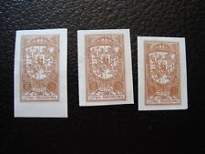 LITHUANIA CENTRALE stamp yvert and tellier n° 32 x3 nsg without gum ONE SIZE
