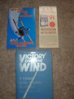 VICTORY OVER WIND: A HISTORY  ABSOLUTE WORLD AIR SPEED By Don Berliner(SIGNED)