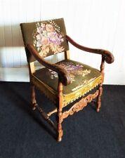 Oak Art Deco Antique Armchairs