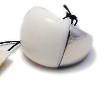 CK CALVIN KLEIN ANELLO DONNA ACCIAIO BIANCO - WOMAN RING WHITE STEEL NUOVO