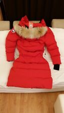 "BRAND NEW RED LABEL EDITION ""RED"" CANADA GOOSE MYSTIQUE ""MEDIUM"" PARKA JACKET"