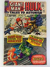 Marvel Comics - TALES TO ASTONISH #63 - Origin Leader - 1965 - 4.0 VG