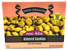 Twin Dragon Almond Cookies Mini-Bites 8 oz