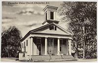 CHEPACHET RHODE ISLAND Chepachet Union Church GLOCESTER RI Photo Postcard