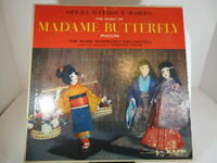 """Madame Butterfly Kapp Stereo """"Opera Without Words KCL-9007- 12"""" LP VG c VG"""