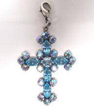 Modeschmuck-Halsketten & -Anhänger für besondere Anlässe mit Kristall-Kreuz-Motiv