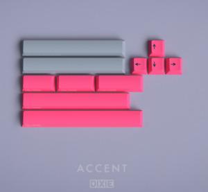 GMK 8008 R1 Accent Kit Doubleshot Keycap Keyset SEALED