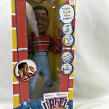 "Steve Urkel 18"" Doll New Boxed Hasbro 1991 Vintage Family Matters Talking TV NIB"