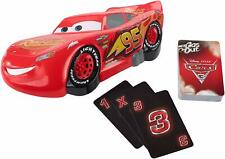 Pixar Cars Lightning McQueen Family Card Game / Gas Out by Disney Kids Boys Toys