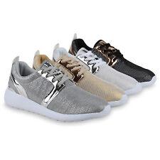 Glitzer Damen Laufschuhe Lack Sportschuhe Fitness 815025 Schuhe