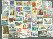 Russia stamps 500 all different stamps collection-many thematics