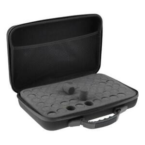 60 Bottle Essential Oil Carry Case 5ML-15ml Holder Storage Organizer For Travel