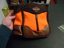 NEW! Brown and Orange Tupperware Insulated Lunch Bag
