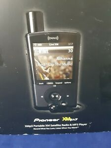 Pioneer GEX-XMP3 Portable XM Satellite Radio Receiver + Remote + Charger *WORKS*