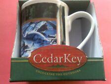 New listing Cedar Key Fishing.Sportsman'S Coffee Mug Cup Ceramic *New*
