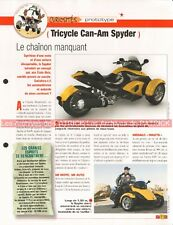 CAN-AM Spyder Prototype Joe Bar Team Fiche Moto #001234