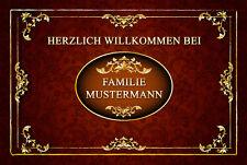 *Fußmatte Vintage*FUßMATTEN  TÜRVORLEGER Personalisiert Individuell Landhausstil