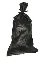 Yuzet Black Sandbag Polypropylene Woven UV Proof Rot Proof- Empty
