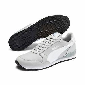 Puma Unisex ST Runner v2 NL Sneaker Low Turnschuhe Nylon High Rise Grau 365278