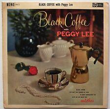 PEGGY LEE 'Black Coffee' - AH 5 - Vinyl LP Album - UK 1961 - EX/VG