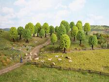 Noch 32801 ESCALA N, Z, árboles de hoja caduca, 25 piezas 3,5-5 cm de alto #