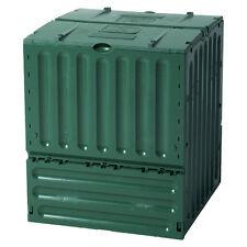 Compostiera in plastica litri 600 L80xP80 H95 Composter giardino CUBE COMPOSTER