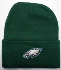 Philadelphia Eagles HEAT Applied Flat Logo on Beanie Knit Cap hat! f5b2710a5