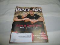 Julie & Zach Ertz Philly's All-Star Couple Jersey Man Magazine October 2019
