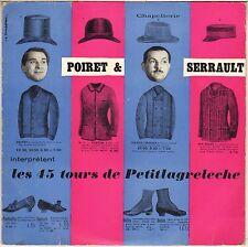 """POIRET-SERRAULT, LES 45 TOURS DE PETITLAGRELECHE """"RASOIRS THOMSON"""" 50'S EP"""