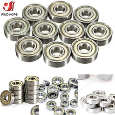 1/10Pcs 608/623/625/626/688zz Deep Groove Ball Bearings Double-sided Metal Seal