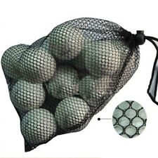 Golf 18-Balls Tennis Ball Nylon Mesh Nets Bag Pouch Carrying Holder Storage Bags