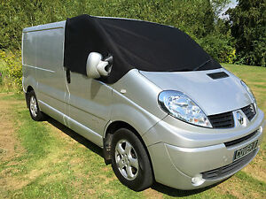 Vivaro Window Screen Cover Frost Protector Wrap Vauxhall Trafic Black out blind