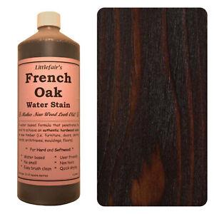 Littlefair's Water Based Environmentally Friendly Wood Stain / Dye - French Oak