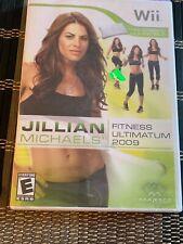 Nintendo Wii : Jillian Michaels Fitness Ultimatum 2009 VideoGames Factory Sealed